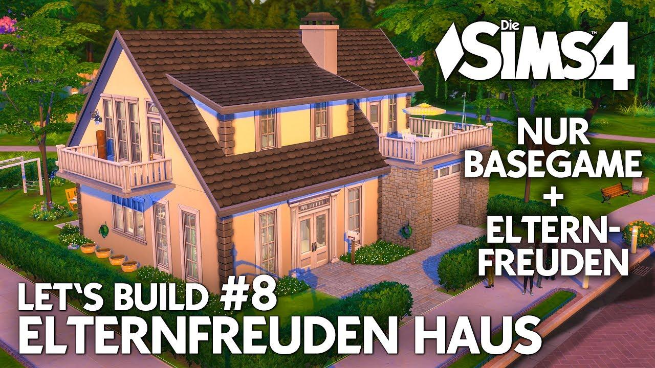 die sims 4 haus bauen elternfreuden familienhaus 8 garten bad deutsch youtube. Black Bedroom Furniture Sets. Home Design Ideas