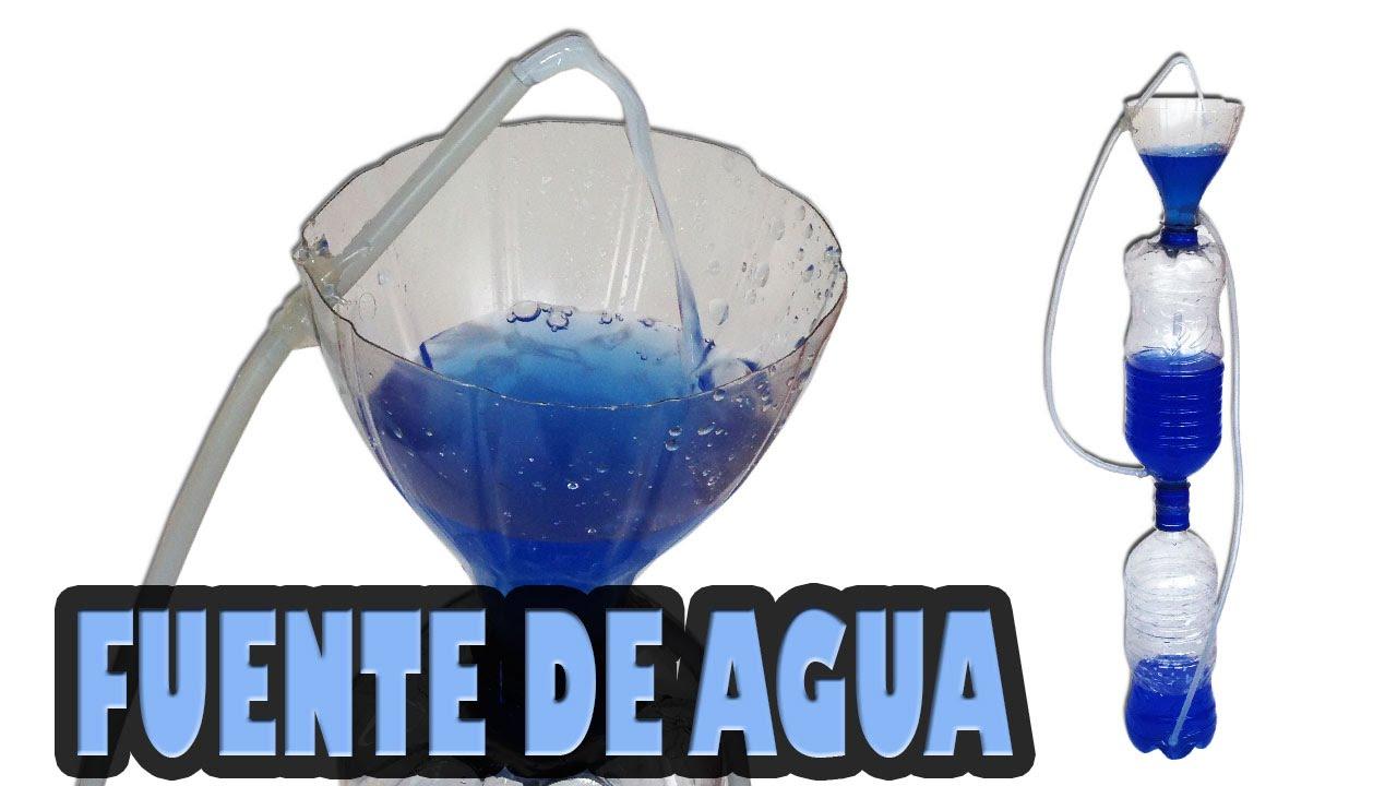 Como hacer una fuente de agua casera youtube for Bomba para fuente de jardin