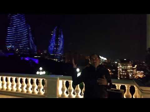 Azerbaijan Baku Top View Hindi / Urdu