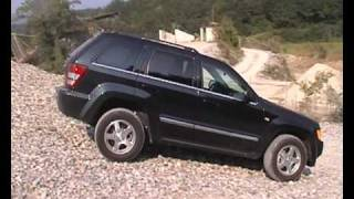 Gravel, Grand Cherokee 3.0 CRD Limited Jeep