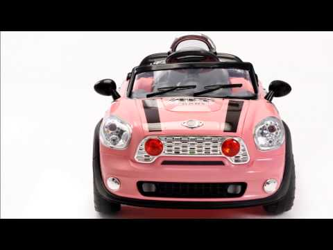 voiture enfant electrique mini cooper 12 volts youtube. Black Bedroom Furniture Sets. Home Design Ideas