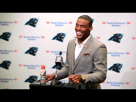 Cam Newton details his block on Chicago Bears Lance Briggs