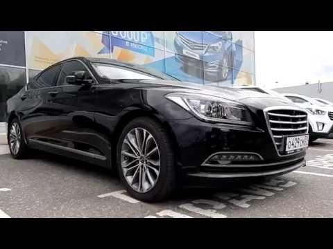 Hyundai Genesis 3.0 V6 GDI , 249 л.с., 8АТ 2016 Тест драйв в городской черте