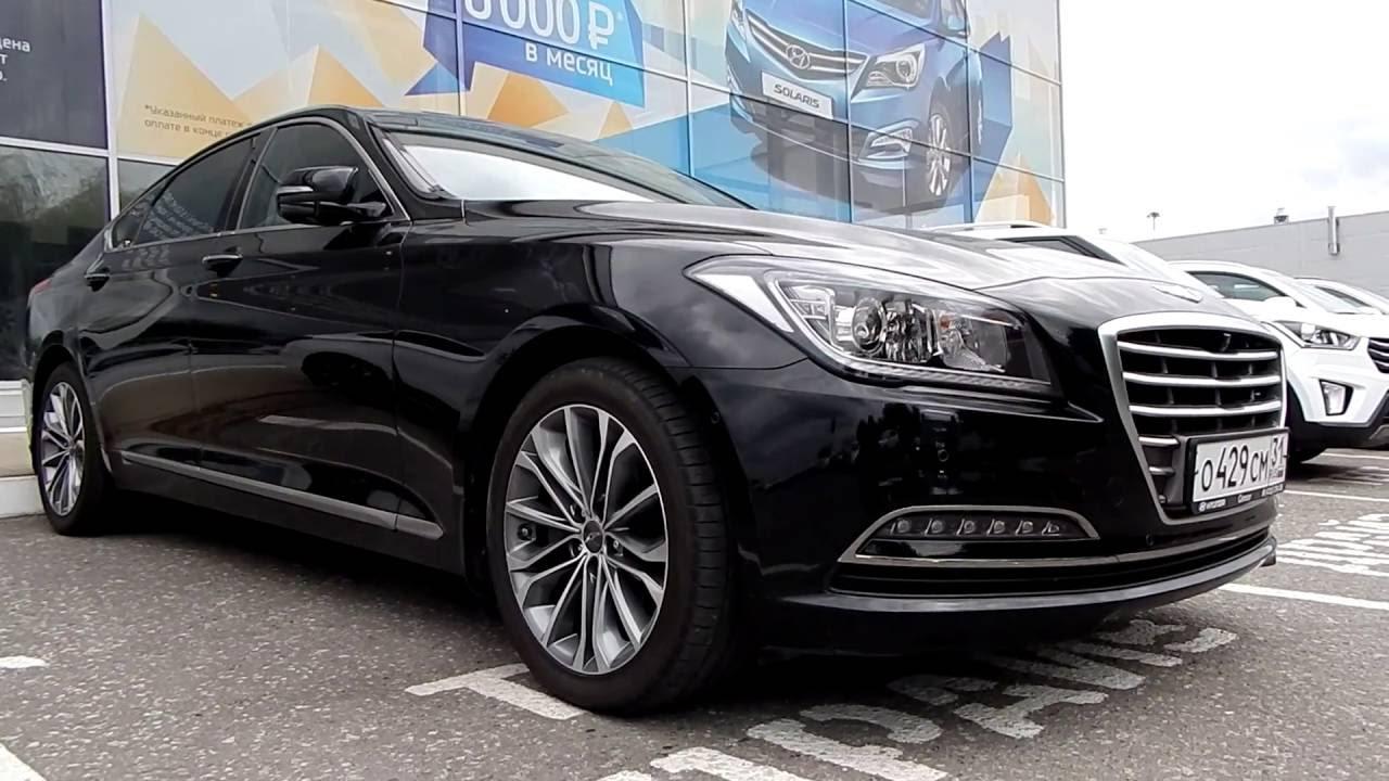 Hyundai Genesis 3.0 V6 GDI , 249 л.с., 8АТ  2016 : Тест драйв (в городской черте)