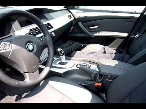 2009 BMW 520d E60 Exterior Interior