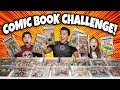 $100,000 COMIC BOOK CHALLENGE!!! Most Valuable Comics Collection Battle!