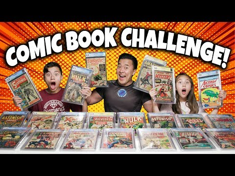 $100,000 COMIC BOOK CHALLENGE!!! Most Valuable Comics Collection Battle!