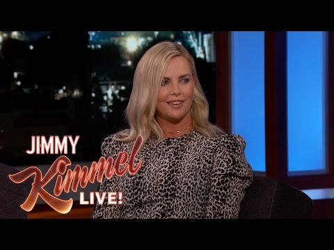 Charlize Theron Hired a Dirty, Lazy Easter Bunny