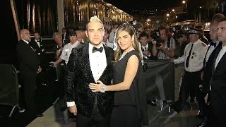 Robbie Williams and wife Ayda Field at Chopard party in Cannes