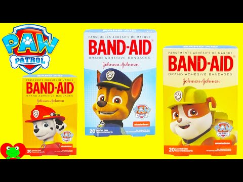Paw Patrol Band Aids