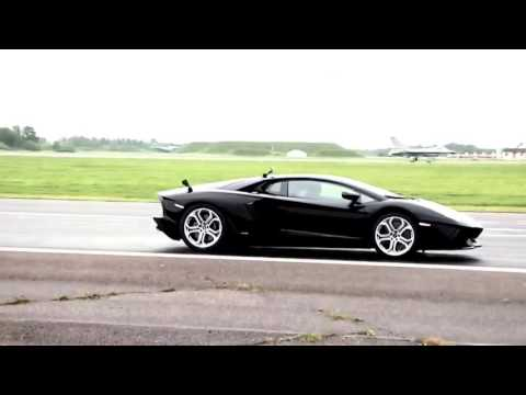 Kawasaki Ninja H2r vs Bugatti Veyron -Lamborghini Aventador vs F16 Fighting Falcon-!CARRERAS EPICAS!