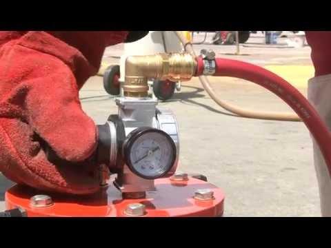 Blastline Blasting Process and Demonstration
