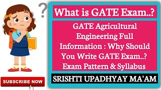 GATE Agricultural Engineering Full Information :Eligibility, Exam Pattern, Syllabus|Agriculture & GK
