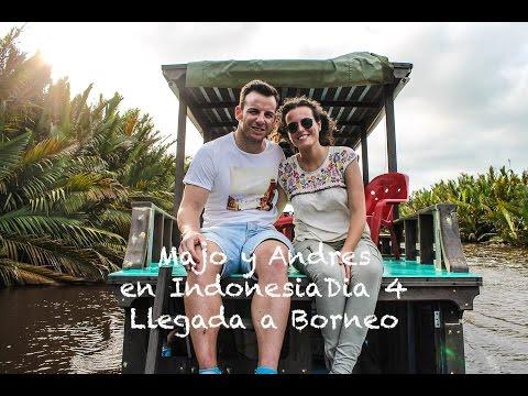 Majo y Andrés en Indonesia Día 4: Llegada a Borneo