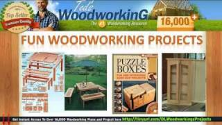 Free Woodshop Project Plans - Free Woodworking Plans