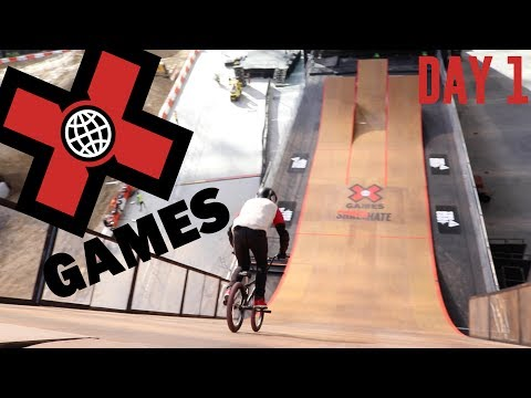 X GAMES 2017 DAY 1!