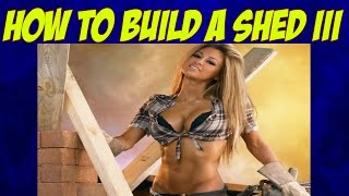 How To Build A Garden Shed-wooden Buildings-building A Wooden Shed