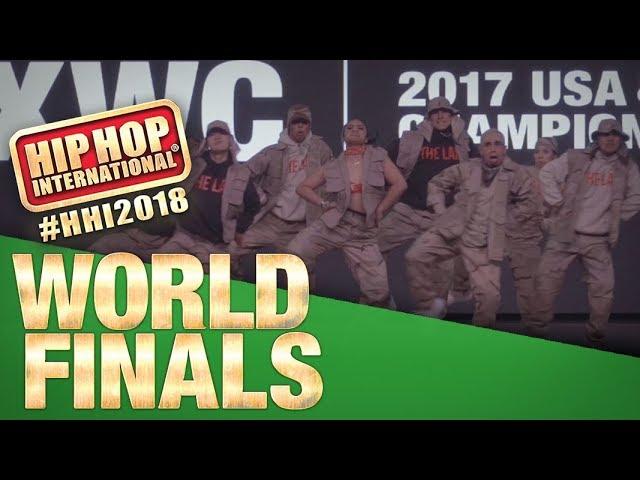 The Lab X West Co - USA | Champion Showcase |2018 Hip Hop International