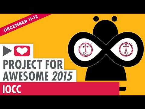 Be the Bee #88   Project for Awesome 2015   IOCC