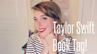 Taylor Swift Book Tag! Thumbnail