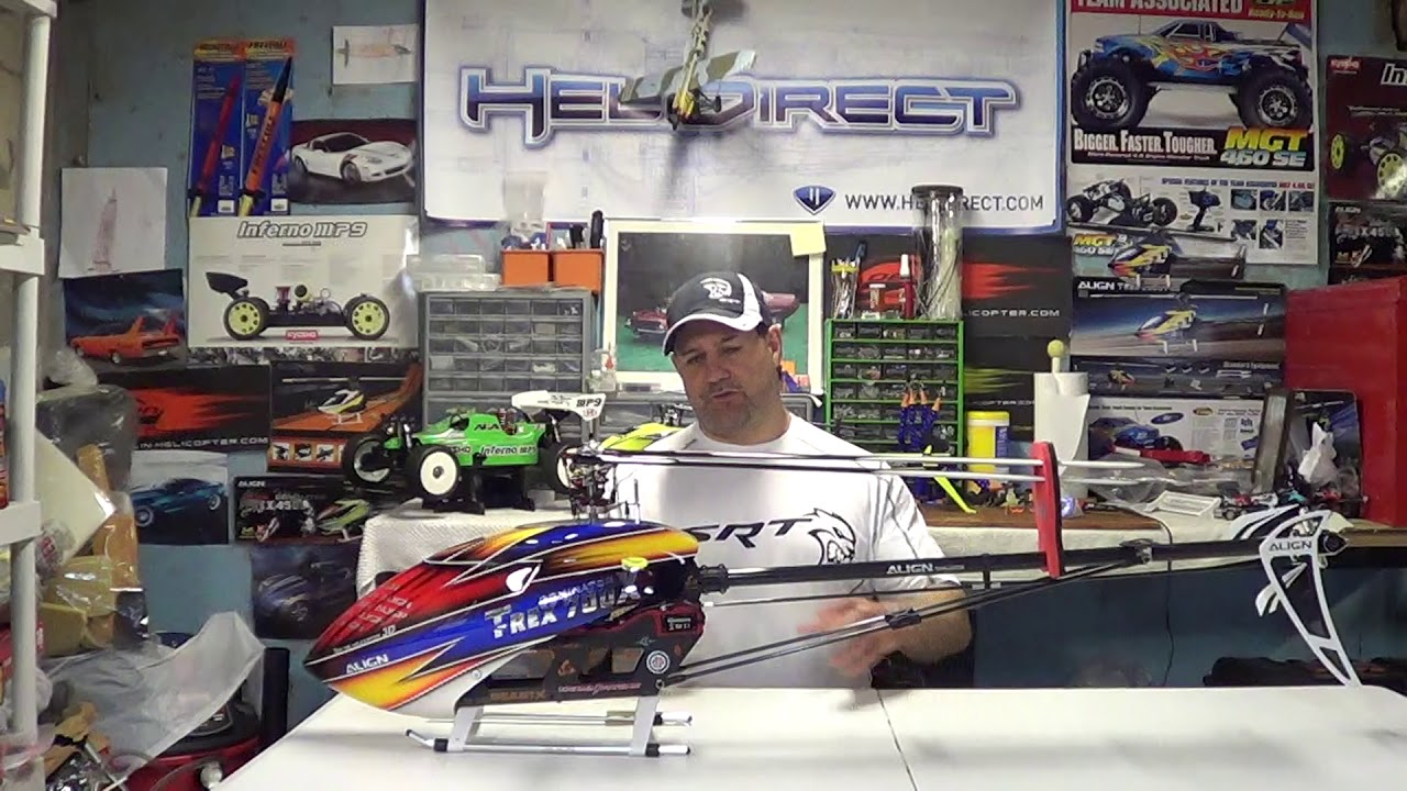 Rc helicopter crash kit parts to generally have on hand for quick repairs