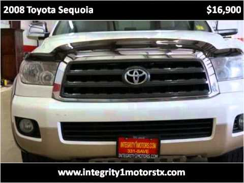 2008 toyota sequoia used cars amarillo tx youtube for Integrity motors amarillo tx
