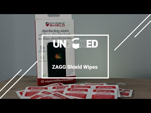 UNBOXED: InvisibleShield Wipes