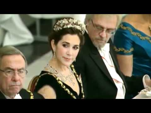 Princess Mary of Denmark and the Finnish president