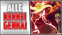 Alle Kekkei Genkai und das Kekkei Tōta | Naruto & Boruto
