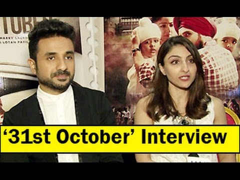 Soha Ali Khan & Vir Das Talk About ''31st October''  | Interview | Full Video