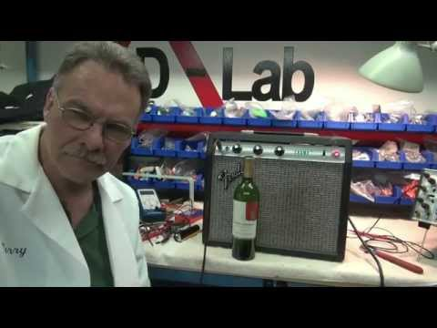 Fender Champ tube practice guitar amp repair tips How to by D-lab