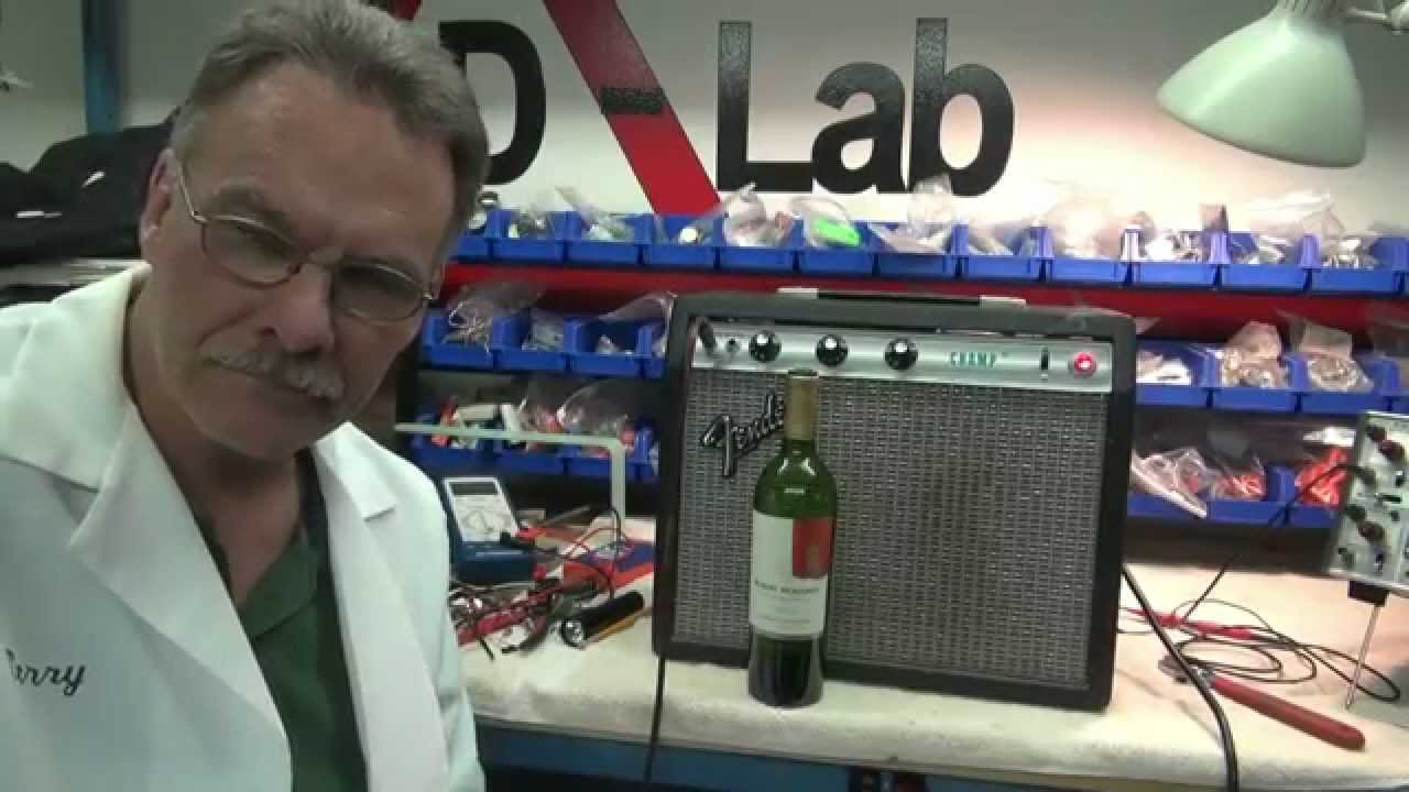 Fender Champ Tube Practice Guitar Amp Repair Tips How To By D Lab Super Reverb Speaker Wiring Diagram Youtube