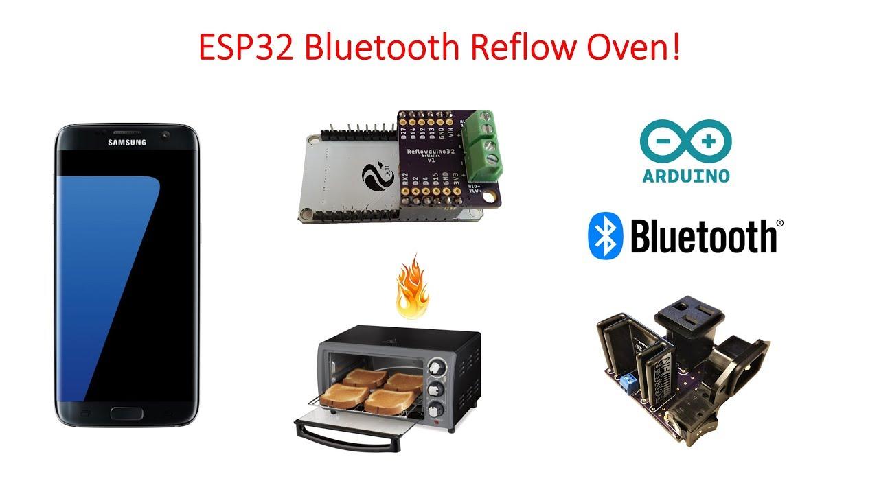 ESP32 Bluetooth Reflow Oven: 6 Steps
