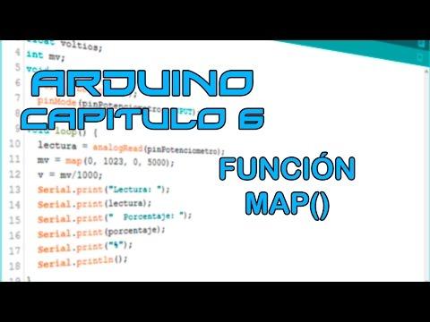 Curso Arduino - Capítulo 6: Función Map