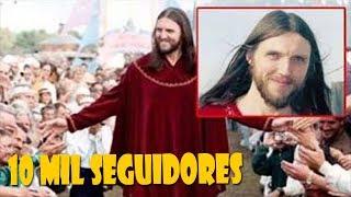 EU SOU JESUS CRISTO: HOMEM QUE DIZ SER A REENCARNAÇÃO DO SALVADOR E TEM 10 MIL SEGUIDORES