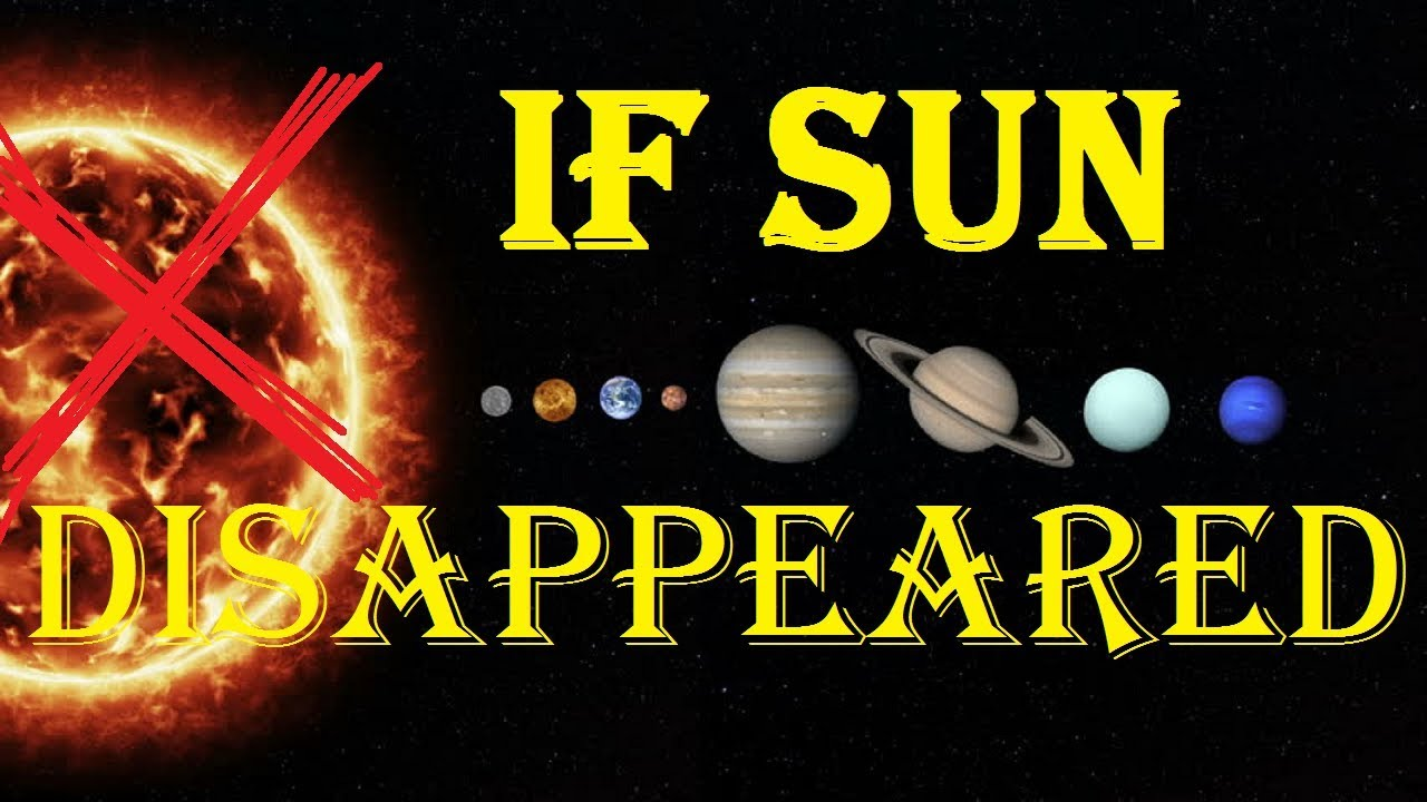 what would happen if there is no sun to the earth Then i saw a new heaven and a new earth, for the first heaven and the first earth had passed away, and there was no or that the church had no need of the sun.