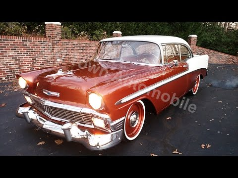 1956 Chevrolet BelAir 2 door Hardtop for sale Old Town Automobile in Maryland