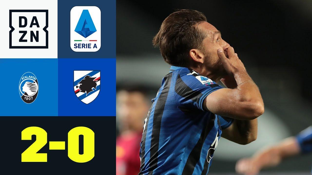 Bergamos beeindruckende Siegesserie geht weiter: Atalanta - Sampdoria 2:0 | Serie A | DAZN