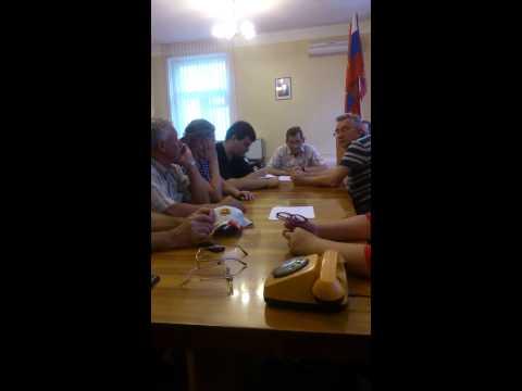 Заседание ТИК Володарского района Брянска 2. Скандал