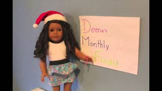 Deena's Monthly American Girl Doll Finds November