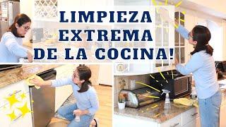 3 SIMPLES PASOS PARA LIMPIAR TU COCINA DE FORMA PROFUNDA! Limpia conmigo la cocina!