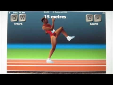 QWOP: excellent 100m run