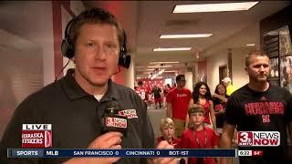 Scott Frost on Nebraska football Fan Day