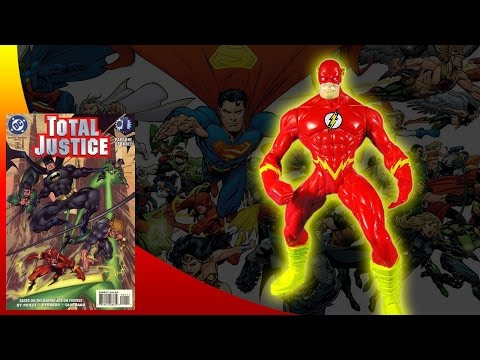 KENNER - BATMAN TOTAL JUSTICE - THE FLASH ACTION FIGURE REVIEW (eng)