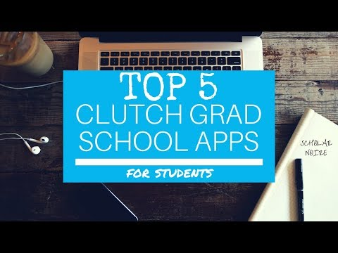 TOP 5 MUST-HAVE APPS FOR GRAD STUDENTS | SCHOLAR NOIRE