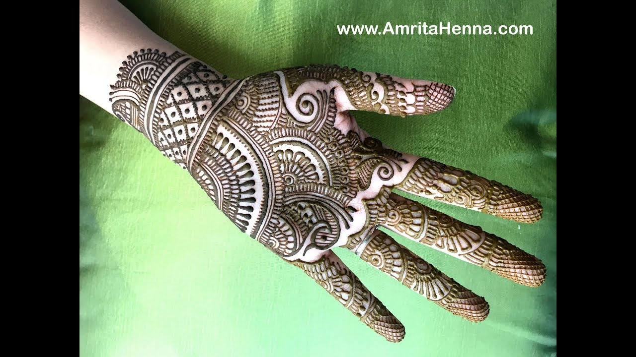 Bridal Henna Mehndi Design For Both Hands Full Hand Mehendi Design