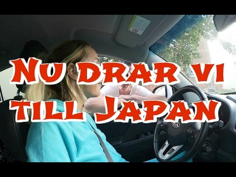 Vlogg | Nu drar vi till Japan #1