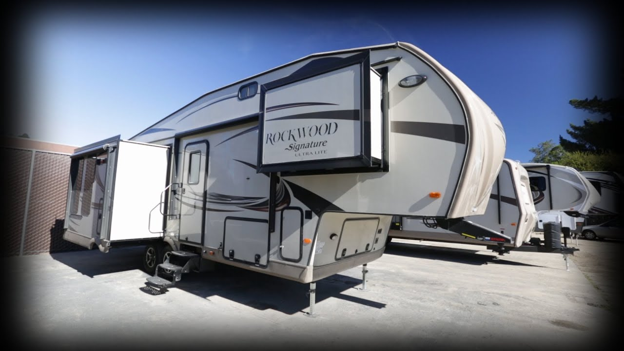 Fifth Wheel Camper >> 2015 Forest River RV Rockwood Signature Ultra Lite 8289WS ...