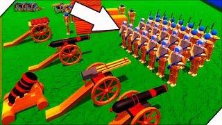 РАКЕТНЫЙ ЗАЛП ПО СОЛДАТИКАМ - Игра Wooden Battles. Лучшие игры для ПК