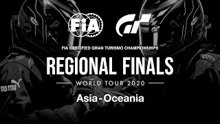 FIA Gran Turismo Championships 2020 | Nations Cup | Regional Finals | Asia-Oceania Region